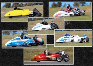 Professional Photographers enjoying the Sidecar Racing Club of Victoria